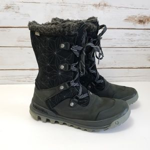 Merrell Silver Sun Lace Up Boots